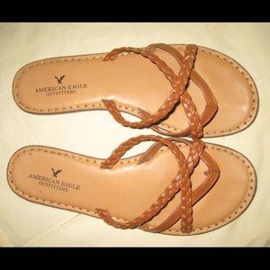 AEO Braided Strap Sandals